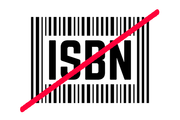 ISBNが無い本